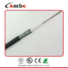Buried / Duct / Aerial Application fita metálica blindada multi pares SM / MM velocidade do cabo de fibra óptica