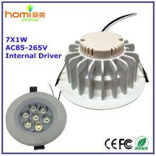 7W LED plafonnier