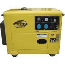 Gerador Silencioso Diesel 6kw 8600T Gerador Silencioso