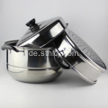 3-Tier Edelstahl Compound Bottom Steamer Pot