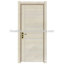 Diseño simple puerta rasante de melamina moderno