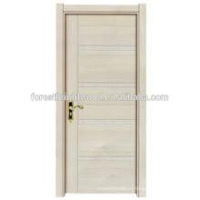 Простой дизайн современных меламин двер
