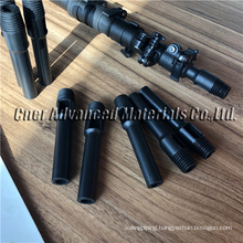 Plastic/Aluminum euro thread pole tip used for carbon fiber waterfed poles