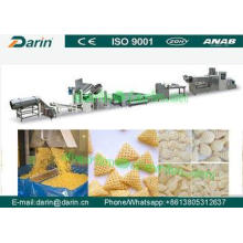 Single screw extruder 3D Snacks Pellet Food Production Line