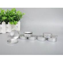 Alumínio Cosméticos Packagign tampa e Base Jar (PPC-ATC-090)