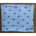 100% Rayon Printed Fabric Little Star Moon Pattern