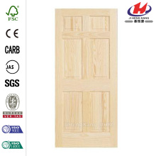 Woodgrain Unfinished Pine Interior Door Slab