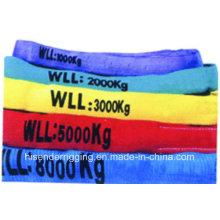 Eslinga de cinta Muchos colores, Tipo plano, Buena calidad, Prueba alta