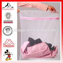 Bolso de lavandería de malla Bolso de lavado de lencería de pequeño tamaño