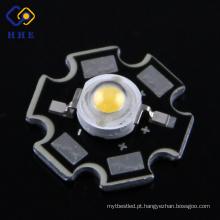 Tipo da estrela da microplaqueta de Bridgelux do diodo emissor de luz do poder superior 1W / 3W