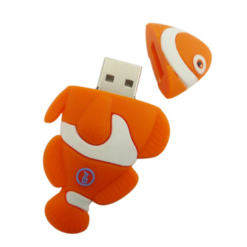 New Products Lovely Cartoon Fish USB Stick