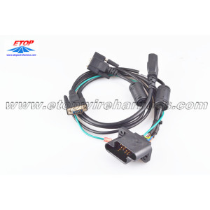 Power cable for game machine