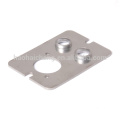 Custom metal stamping stainless steel heater tube flange for Electric heating