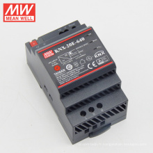 MEANWELL Europe type SELV CE KNX din rail 20W KNX alimentation pour knx actionneur KNX-20E-640