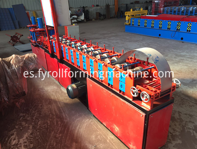 shutter door roll forming machine 13