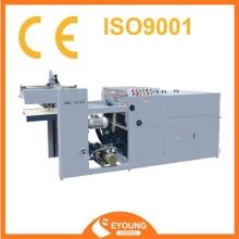 UV varnish plastic coating machine
