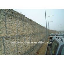 Galvanized & PVC Coated Gabion Fence