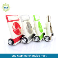 20% off Wholesale Portable Mini Fan with Emergency Led Lamp