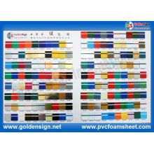 Hoja de doble color ABS para material adverso de decoración
