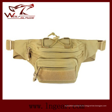 Cinturón táctico correa ajuste cintura bolsa a bolsa