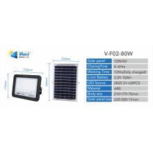 panel solar para luz de inundación