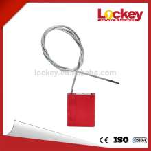 Length 256mm Diameter 2.5mm cable wire Car Seal blockade lockout