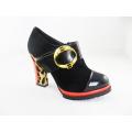 2016 moda salto alto chunky senhoras vestido sapatos (hyy03-165)