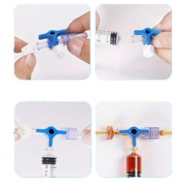 Disposable Medical 3 way stopcock With Without Tube