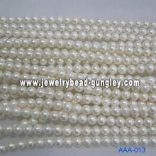 Grado del AA de perla de agua dulce 10-10, 5 mm