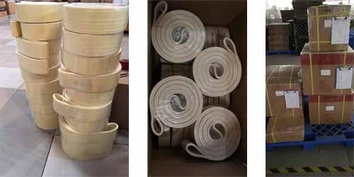 packing-of-aluminum-felt-belt