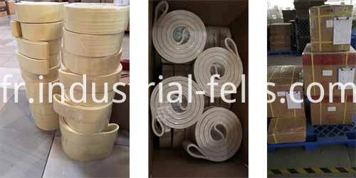 Kevlar Endless Transfer Belts For Aluminum Extrusion