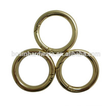 2015 Hot Sell New Light Gold Round Ring For Purse