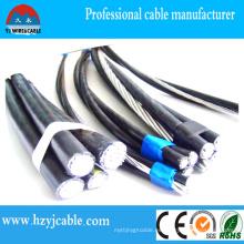 Aprobación del cable aéreo ABC para aplicaciones al aire libre