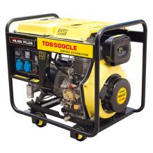 5 кВА Дизельный генератор / Портативный дизельный генератор Цена (TD6500CLE)