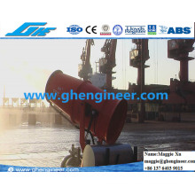 Water Spray Dust Proof Coal Ore Grain Port Machine