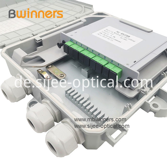 PLC splitter terminal box