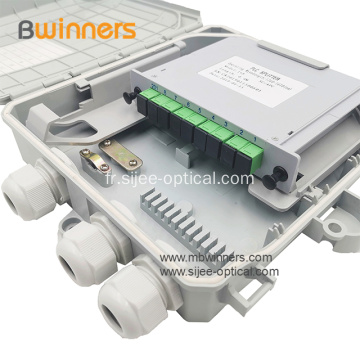 1X8 SC PLC Splitter Fibre Optique Box