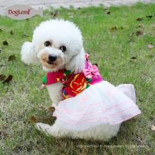 Designer Chien Vêtements Chien Vêtements Vêtements pour animaux de compagnie Princesse Vêtements Robes de mariée