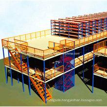 Steel Mezzanine Shelf for Industrial Warehouse Storage