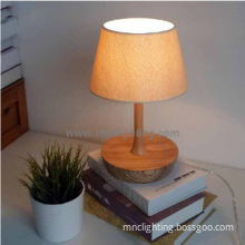 hot sale European style bedside wooden table lamp decoration desk lamp