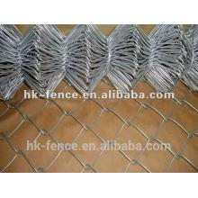 Calibre 9 fio galvanizado por imersão a quente 50x50mm cerca de arame de malha 6ft rolos