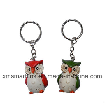 Figurine Owl Key Chain Cadeaux