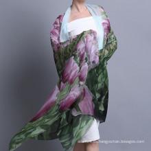 Forme la bufanda digital del tamaño grande del 100% del inkjet 100%
