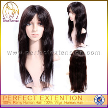 For African American Black Extra Long Afro Straight Hair Wigs