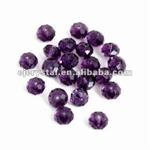 Crystal Glass Flat Beads,Glass Beads For Chandelier