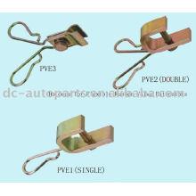 Supports pour extensions de valve en caoutchouc flexible