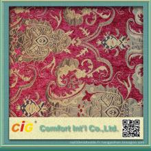 Mobilier d'ameublement Chenille Tissu jacquard Textile maison 2016