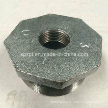 """3 * 1 """"Acoplamiento de tubo maleable del hierro del casquillo galvanizado"""