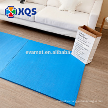 Best-selling safe BPA free foam rubber flooring for customization