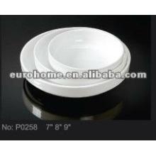 Керамическая плита для пирога для сбора семьи P0258